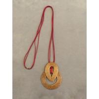 Sautoir Pendentif Rouge - Art Da Terra