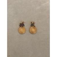 Boucles d'Oreilles Grappes Grenats - Art Da Terra