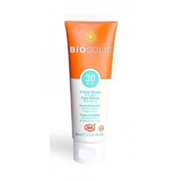 Crème Visage Anti-Âge SPF 30 - BIOSOLIS
