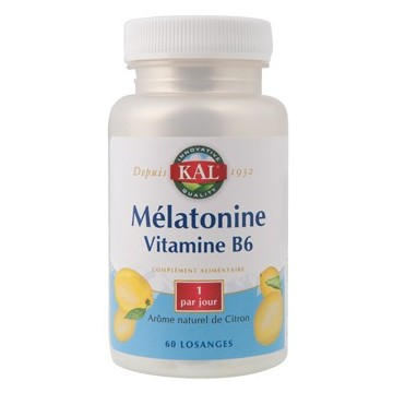 Mélatonine Vitamine B6 - KAL